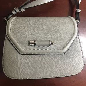 Mackage gray arrow cross body